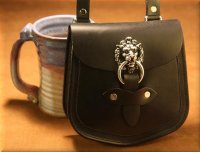 Large Lion's Head Pouch