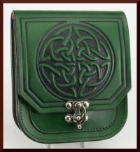 Tall Celtic Knot Pouch