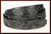 Tri-Knot Tooled Belt