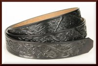 Wolves Tooled Belt