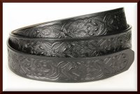 Eagles Tooled Belt