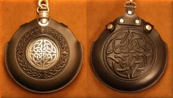 Flask Pouch Celtic Knot