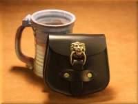 Small Lion's Head Pouch