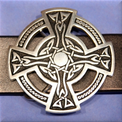 Celtic Cross Buckle 1 1/2""